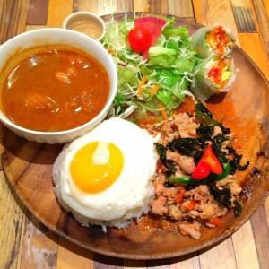 池袋のタイ料理店【タイサバイ】のバランスプーレト