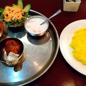 玉川学園前のインド料理店【ボンベイパレス】のディナーターリー