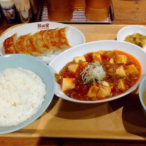 町田の餃子専門店【餃山堂】の麻婆豆腐定食