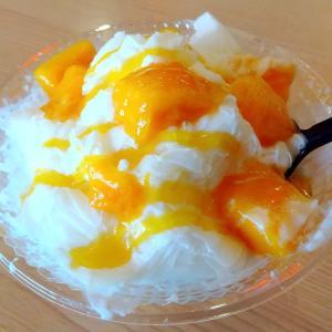 町田のかき氷専門店【ふわふわ台湾かき氷】のマンゴーミルク