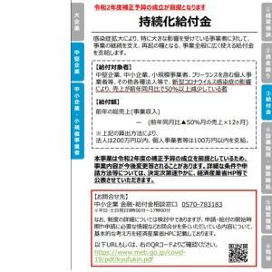 【新型コロナウイルス感染拡大】持続化給付金を受けるためには?!
