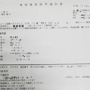 【住宅ローン】実際の『事前審査結果通知書』で購入までの手順を説明