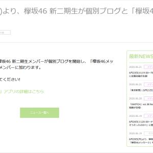 【欅坂46】坂組メッセCMスタートと新加入メンバー個別ブログ・メッセが始まる【日向坂46】
