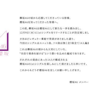 【櫻坂46】一つの終わりと一つの始まり・欅坂46から櫻坂46へ【欅坂46】