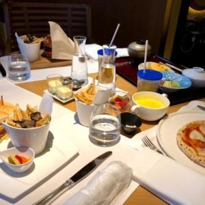 リッツカールトン京都・インルームダイニングでレストランメニューをお部屋で堪能!ミシュランの味に子どもはビックリ?!