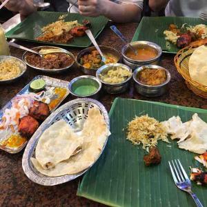 【シンガポール】インド料理 バナナ リーフ アポロ