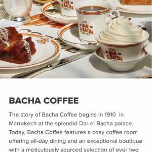 【シンガポール】BACHA COFFEE