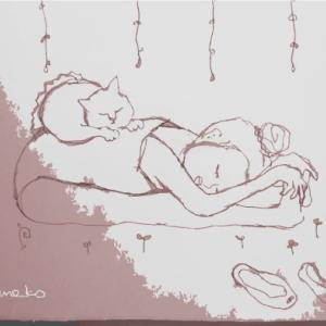 うたた寝のバレリーナ
