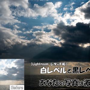 【Lightroom レタッチ術】白レベルと黒レベルであなたの写真は激変する