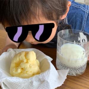 【子どもとクッキング】フレッシュバターを子どもと一緒に手作り★