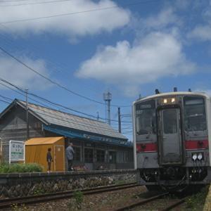抜海駅 存続を願う!