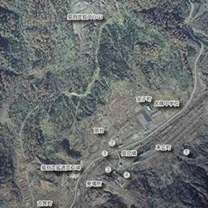 築別炭鉱地図