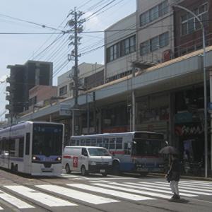 長崎市内のバス路線再編と貨客混載
