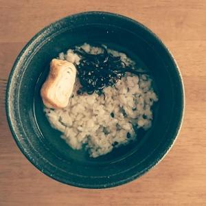 40円で☆雑穀米の麦茶お茶漬け