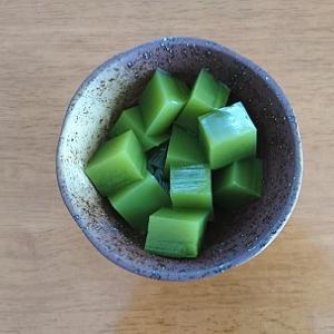 1人分20円☆作るの簡単、抹茶寒天。