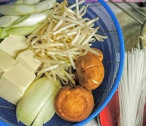 節約☆野菜もたっぷりお家で豚しゃぶ