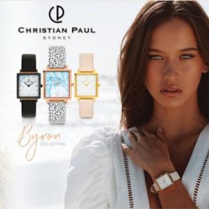 オーストラリア・シドニーのデザイナー腕時計ブランド「クリスチャンポール(Christian Paul)」