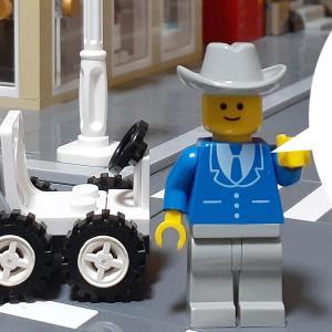 LEGO作品【ゴーカート(オリジナル)】