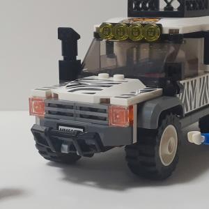 【LEGO作品(リビルド)】サファリ―オフローダー