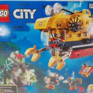 【LEGO既製品】海の探検隊(60264)