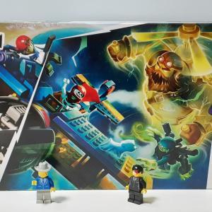 【LEGOヒドゥンサイド】エル・フエゴのスタント飛行機(70429)