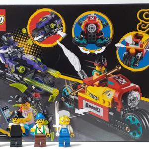【LEGO モンキーキッド】モンキーキッドのドローンバイク(80018)