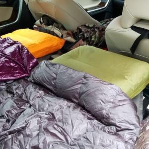 車中泊するときの寝袋はどれがいいのか?選ぶ際の注意点とは?