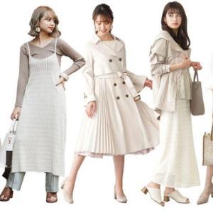 シャープに決める春の『白』★レディースファッション通販サイト【SANEI bd ONLINE】