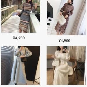 流行の人気レディースファッション PNK online store 紹介!
