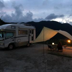 2021年夏季休暇のくるま旅、今回は3密を避け、キャンプに^^