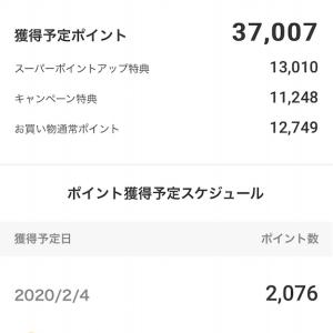 楽天 一撃37000ポイント獲得