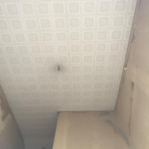 戸建てDIY〜階段壁紙