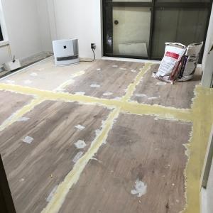 戸建てDIY〜和室床