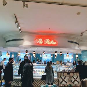 フォートナム&メイソン内のカフェでお茶してきたざます@ザ・パーラー (The Parlour)