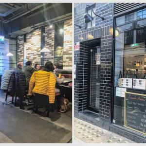 【ロンドン・ソーホー】焼肉屋さんで焼肉じゃないランチをいただいたざます@八 (Hachi)