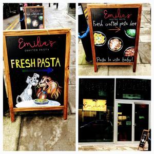 【ロンドン・イーストエンド】やはりオリーブオイルが美味ざます@エミリアズ クラフティド パスタ オールドゲート (Emilia's Crafted Pasta Aldgate)