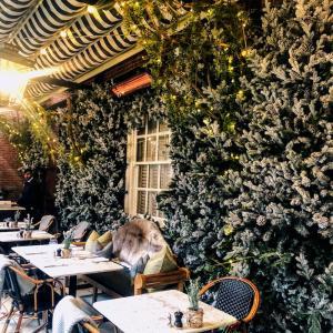 インスタ映え間違いなしの可愛いレストランで一人朝食したざます(主人と不仲なわけではございません)@ダロウェイテラス(Dalloway Terrace)