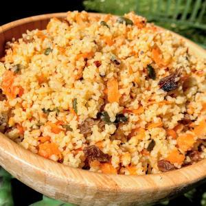 簡単レシピ:ブルグルのさっぱりサラダ!