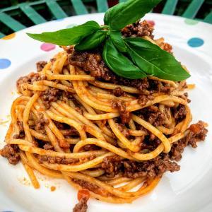 「ラグーソースと言えばスパゲッティボロネーズ!」のレシピ