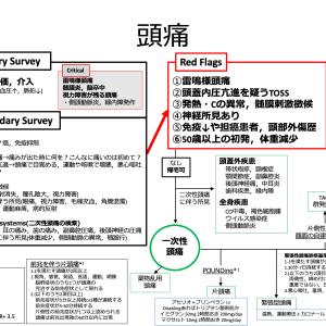 【内科救急】頭痛診療フローチャート