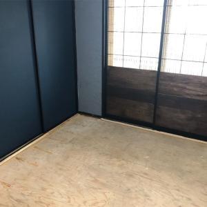 和室をおしゃれなバー風に大改造計画‼︎パート⑦〜捨て張りの前段階!根太を打った様子〜
