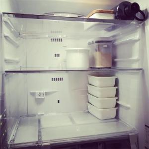 空っぽ冷蔵庫の、ときめき