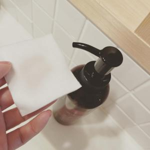 ミニマル美容!朝の洗顔を「化粧水で拭き取り方式」に変えてみた。