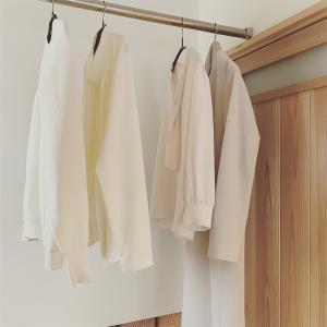 仕事着を「白いブラウス」で統一しようと思う