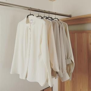 秋冬のトップス6枚。「全部、白」で整いました。