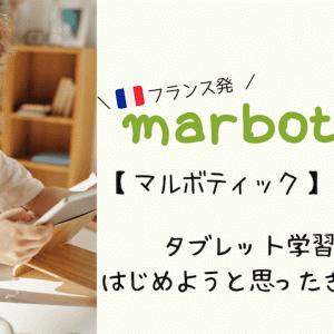 【 マルボティック 】を購入!タブレット学習をはじめようと思ったきっかけ
