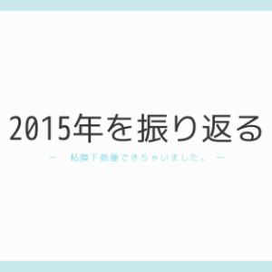 2015年を振り返る