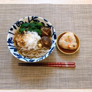 【レシピ】蕎麦ランチ♪上品な味わいの炊き込みご飯