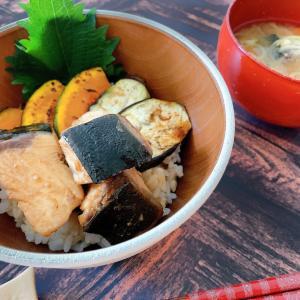 魚の摂取は心筋梗塞のリスクを下げる。ぶりと野菜の甘辛丼
