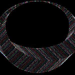 QBASICで幾何学3D図形の描画
